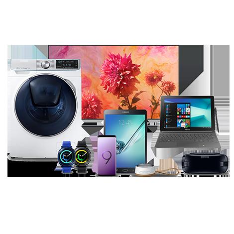 Tous les produits du Samsung Shop<br>sont éligibles ! (Hors gamme Galaxy S10)